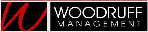Woodruff Management Logo is shown in Bold Red and Black.
